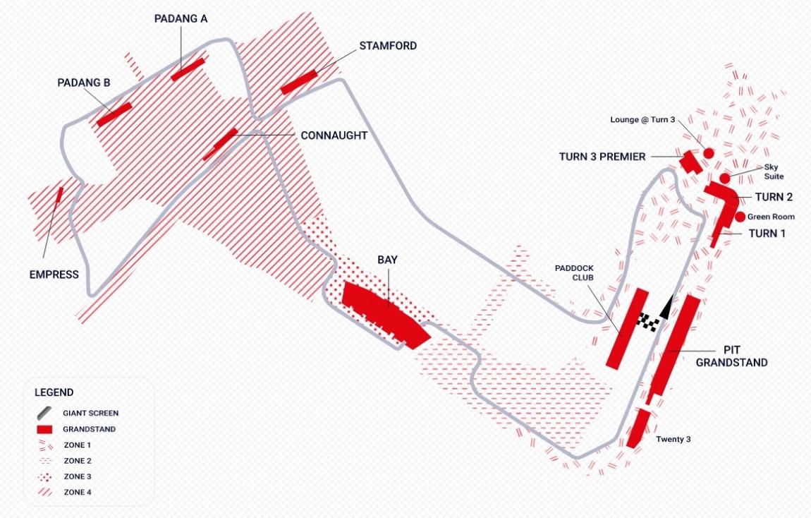 F1シンガポールGP観戦ツアー2021001