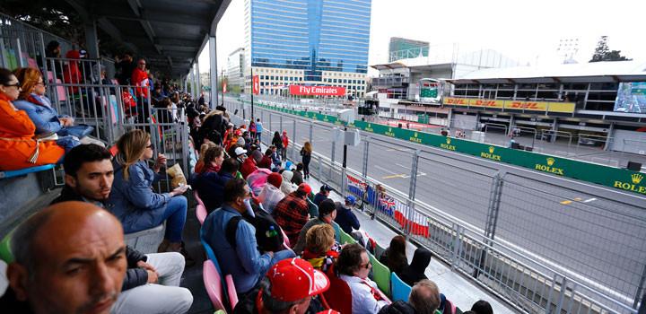 F1アゼルバイジャンGP観戦ツアー12