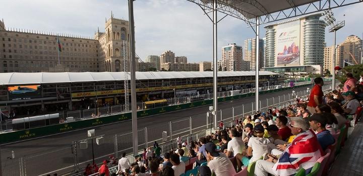 F1アゼルバイジャンGP観戦ツアー14