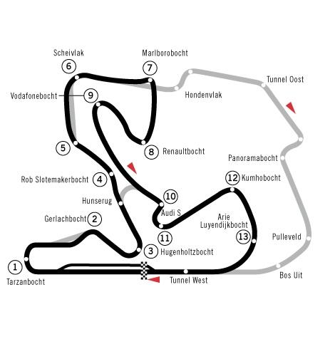 F1オランダ海外観戦ツアー