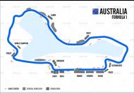 F1オーストラリア コースマップ